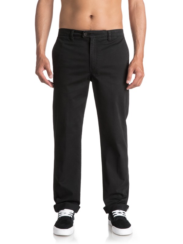 0 Waterman Surf - Chinos Negro EQMNP03004 Quiksilver