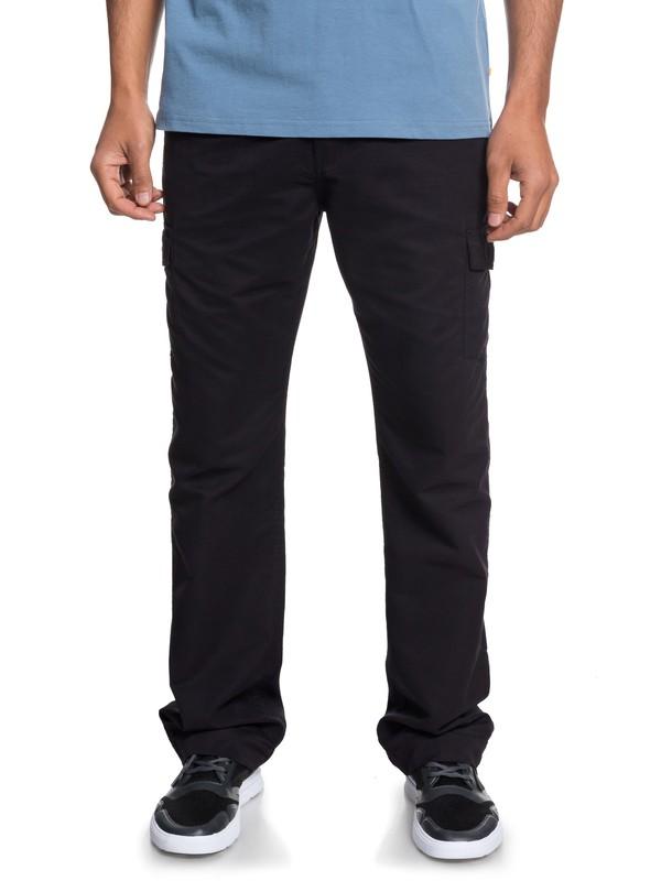 0 Waterman Valley Floor Cargo Pants Black EQMNP03009 Quiksilver