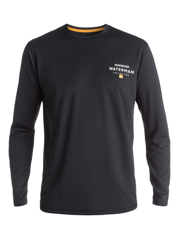 0 Waterman Water Marked - Long Sleeve Rash Vest  EQMWR03003 Quiksilver