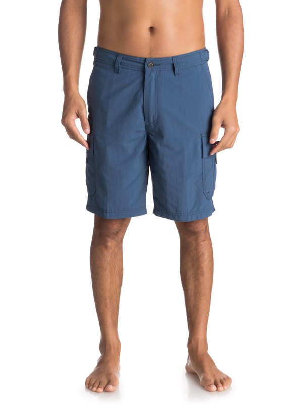 0 Waterman Skipper Cargo Shorts Blue EQMWS03016 Quiksilver