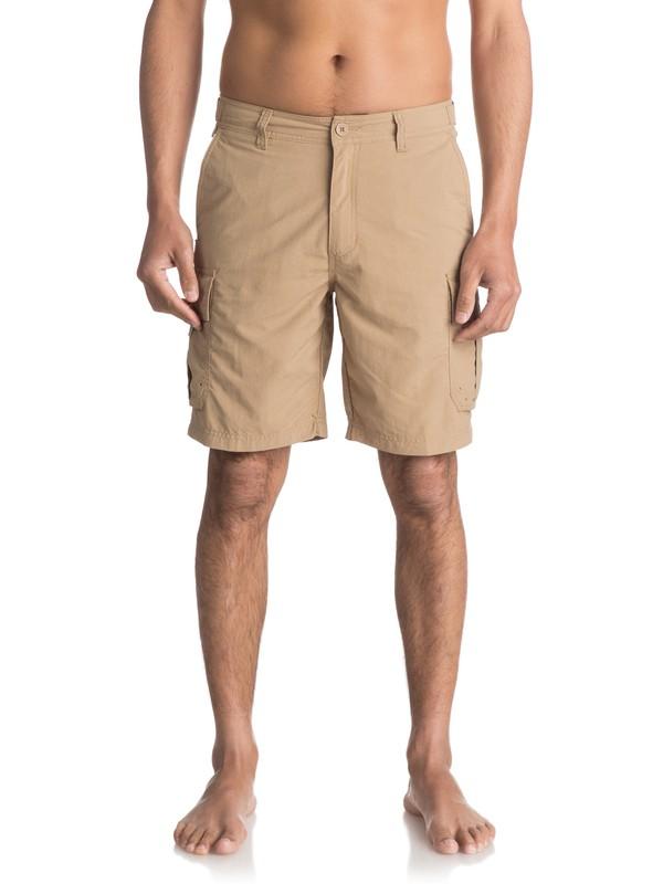 0 Waterman Skipper Cargo Shorts  EQMWS03016 Quiksilver