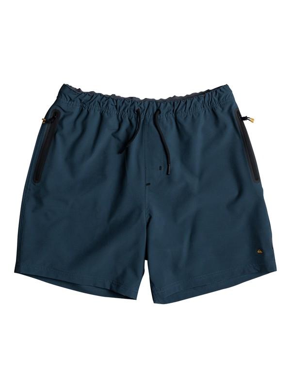 "0 Waterman Tech 17"" Technical Shorts Blue EQMWS03038 Quiksilver"