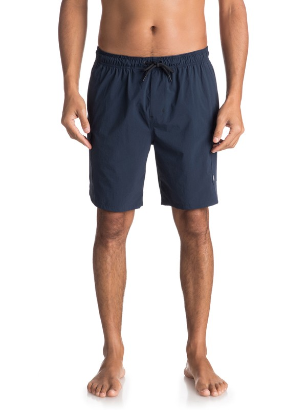 0 Waterman Explorer Technical Cargo Shorts Blue EQMWS03041 Quiksilver