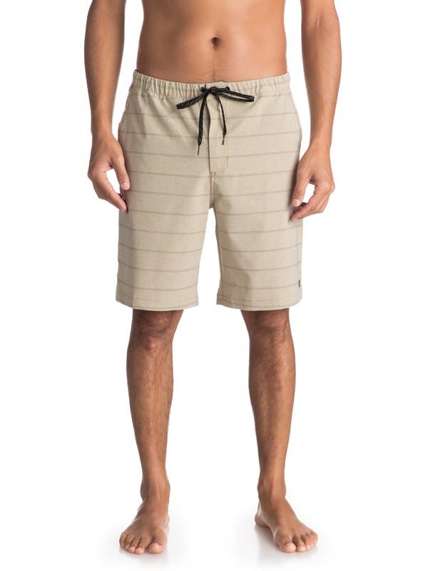 0 Waterman Suva - Amphibian Board Shorts for Men Beige EQMWS03054 Quiksilver