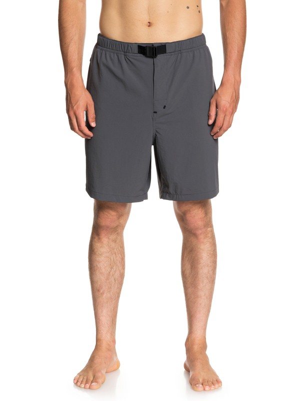 0 Waterman River Mouth Technical Shorts Black EQMWS03064 Quiksilver