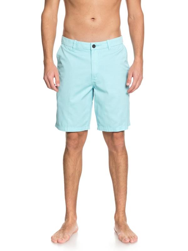 0 Waterman Secret Seas Chino Shorts Blue EQMWS03073 Quiksilver