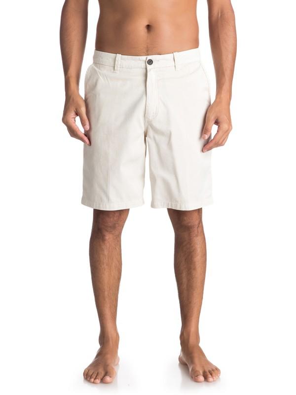 "0 Waterman Secret Seas 20"" Chino Shorts Grey EQMWS03073 Quiksilver"