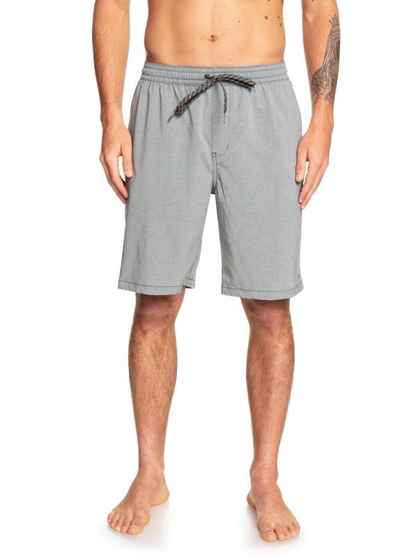 "0 Waterman Suva 20"" - Amphibian Board Shorts for Men Black EQMWS03091 Quiksilver"
