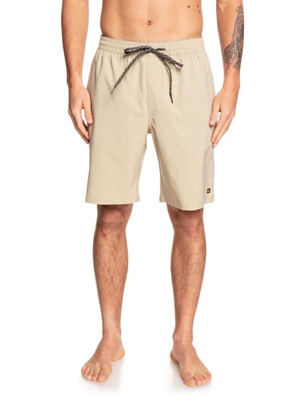 "0 Waterman Suva 20"" - Amphibian Board Shorts for Men Beige EQMWS03091 Quiksilver"