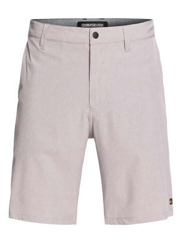 "0 Waterman Backwater 20"" - Amphibian Board Shorts for Men Grey EQMWS03093 Quiksilver"