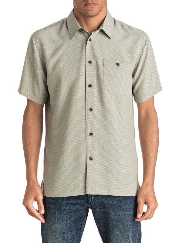 0 Waterman Marlin Short Sleeve Shirt  EQMWT03008 Quiksilver