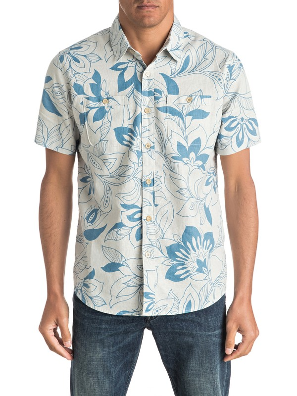 0 Waterman Abundance - Short Sleeve Shirt  EQMWT03009 Quiksilver