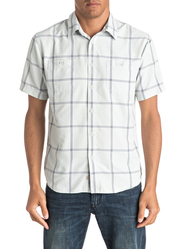 0 Waterman Indian Short Sleeve Shirt  EQMWT03010 Quiksilver