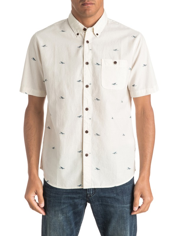 0 Waterman Post Surf Short Sleeve Shirt  EQMWT03011 Quiksilver