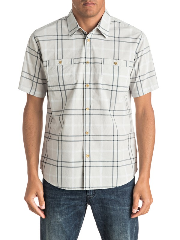 0 Waterman Island Job Short Sleeve Shirt  EQMWT03012 Quiksilver