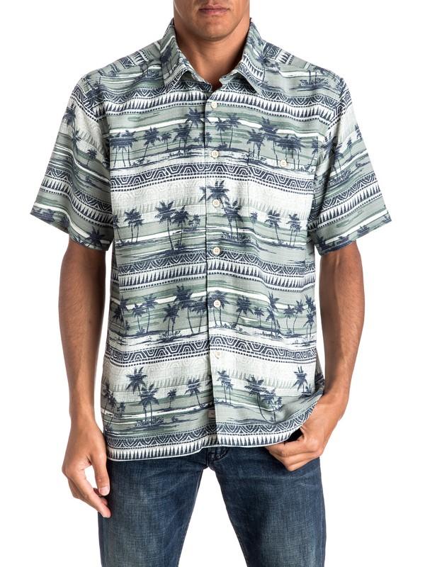 0 Waterman Power Lounge - Short Sleeve Shirt  EQMWT03015 Quiksilver