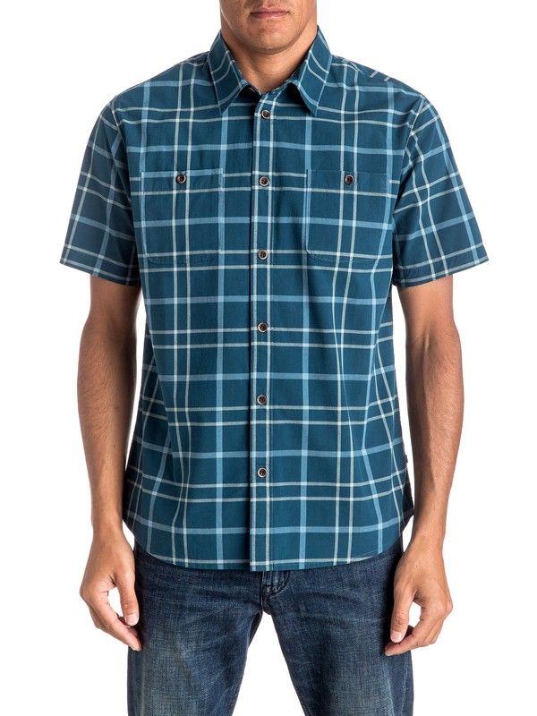 0 Waterman Grandview Short Sleeve Shirt  EQMWT03026 Quiksilver