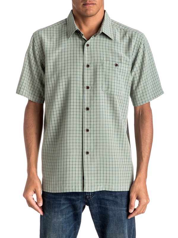 0 Waterman Outboard Short Sleeve Shirt  EQMWT03027 Quiksilver