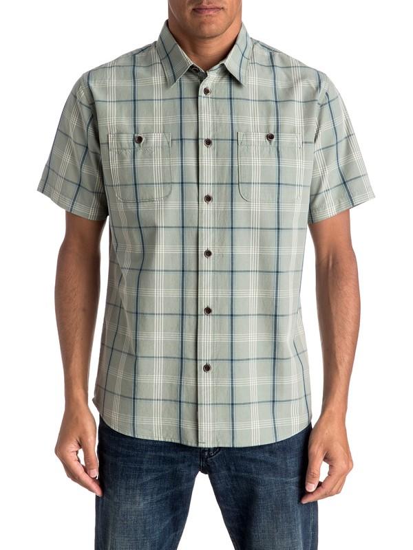 0 Waterman Reform Short Sleeve Shirt  EQMWT03028 Quiksilver