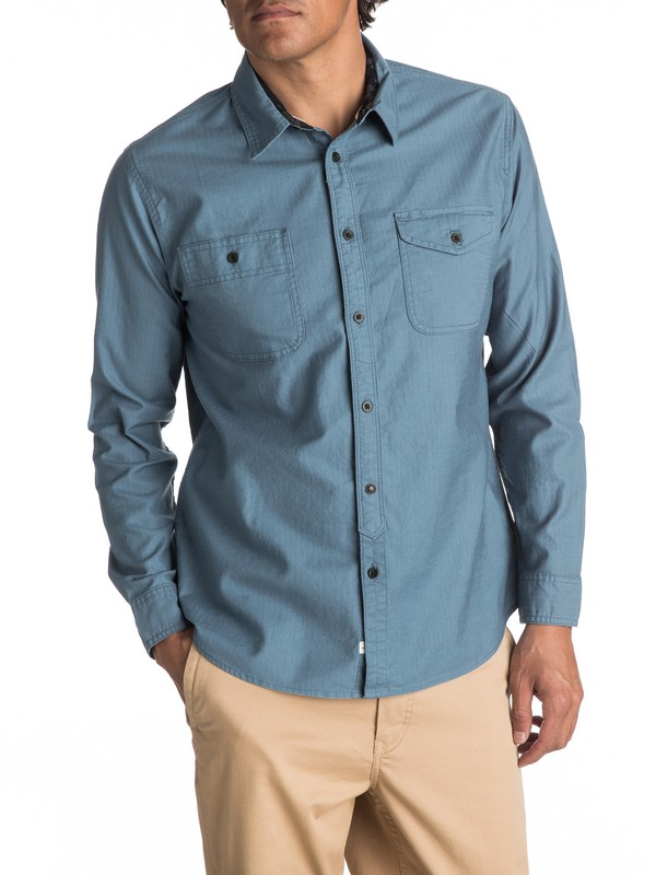 0 Waterman Tarno Long Sleeve Shirt  EQMWT03048 Quiksilver