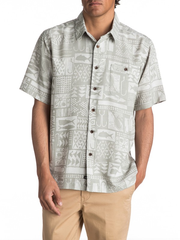 0 Waterman Maludo Bay Short Sleeve Shirt  EQMWT03052 Quiksilver