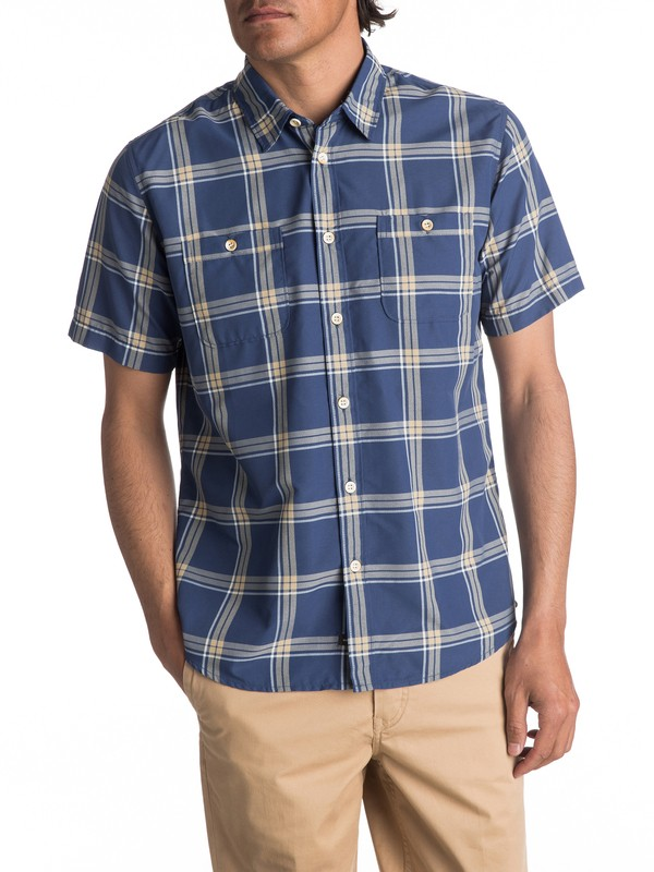 0 Waterman Island Job Update Short Sleeve Shirt  EQMWT03067 Quiksilver