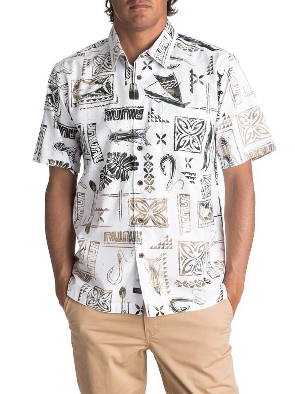 0 Uberdeen Short Sleeve Shirt  EQMWT03082 Quiksilver