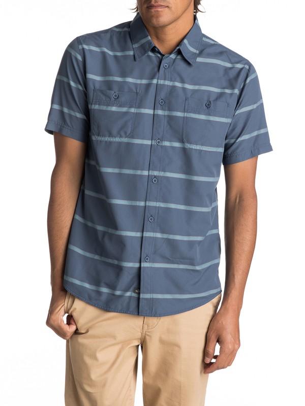 0 Wake Stripe Technical Short Sleeve Shirt  EQMWT03090 Quiksilver