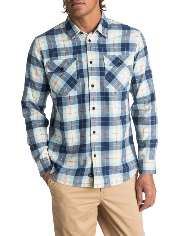 0 Waterman Wade Creek Long Sleeve Shirt  EQMWT03145 Quiksilver