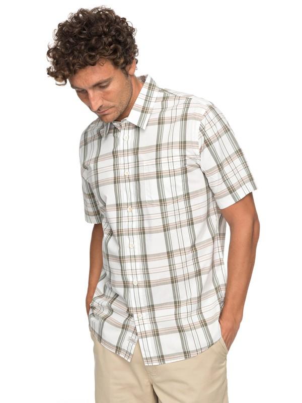 0 Waterman Acotz Lines Short Sleeve Shirt  EQMWT03147 Quiksilver