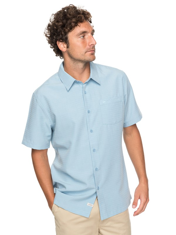 0 Waterman Centinela 4 - Chemise à manches courtes pour Homme Bleu EQMWT03148 Quiksilver