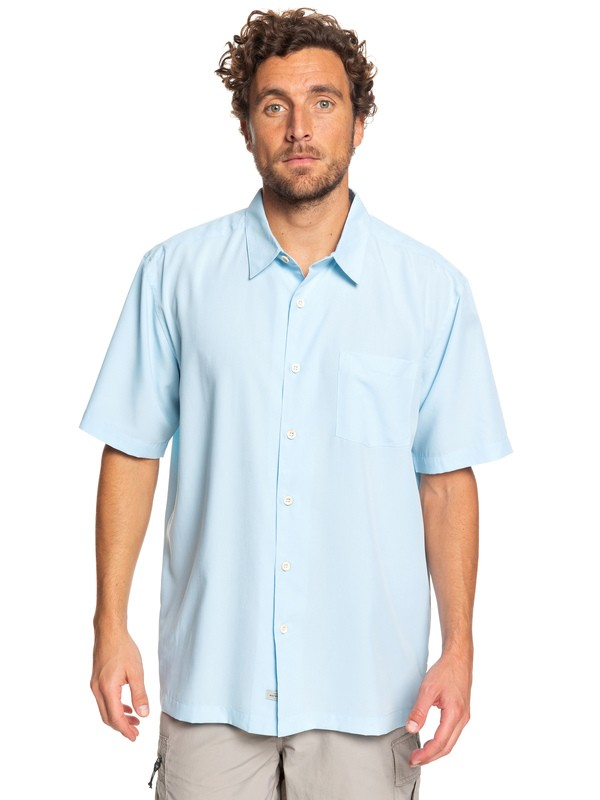 Waterman Cane Island Short Sleeve Shirt Eqmwt03149
