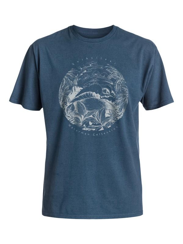 0 Waterman Tenerif - Tee-Shirt  EQMZT03018 Quiksilver