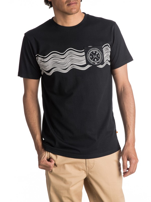 0 Waterman Sonic Waves - T Shirt col rond pour Homme  EQMZT03021 Quiksilver