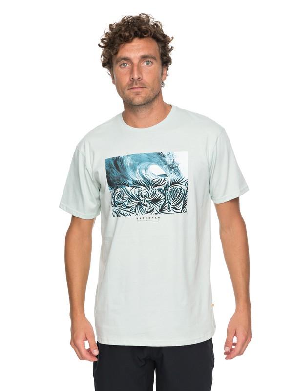 0 Waterman No Ko Loko - T Shirt col rond pour Homme Bleu EQMZT03069 Quiksilver
