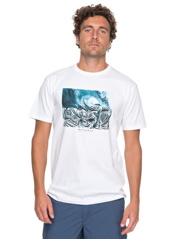 0 Waterman No Ko Loko - T-Shirt für Männer Weiss EQMZT03069 Quiksilver