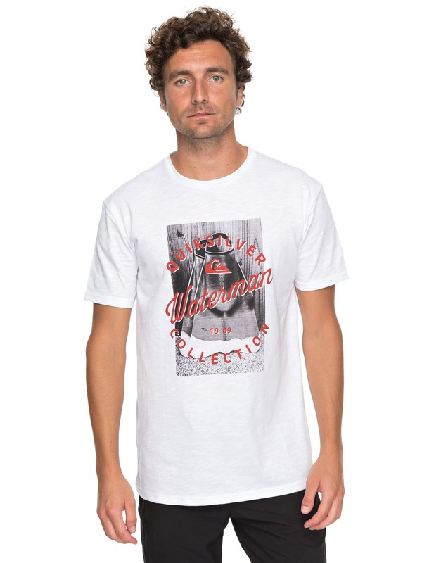 0 Waterman Da Water - T-Shirt for Men White EQMZT03073 Quiksilver