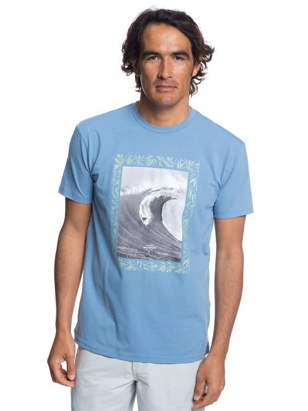 0 Waterman Nice Right - Camiseta para Hombre Azul EQMZT03097 Quiksilver