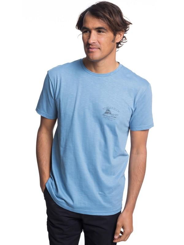 0 Waterman Lauderdale - T-Shirt Blue EQMZT03122 Quiksilver
