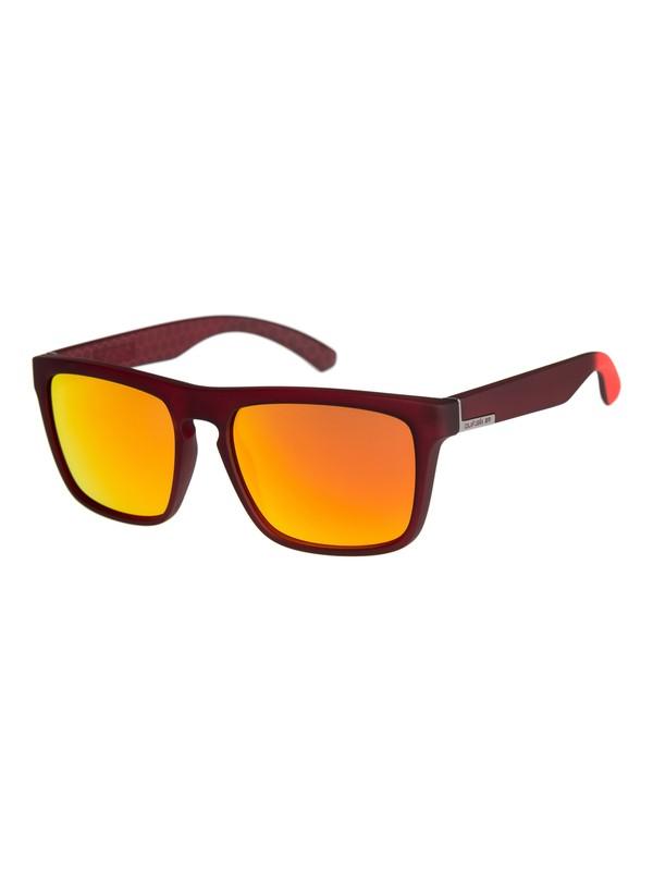 0 The Ferris - Lunettes de soleil pour Homme Rouge EQS1127 Quiksilver