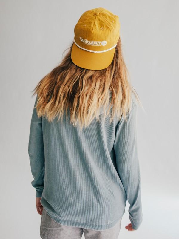 0 Quiksilver Womens Nylon Snapback Hat Yellow EQWHA03000 Quiksilver