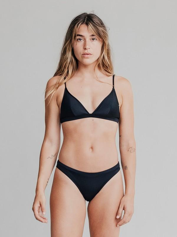 0 Quiksilver Womens - Bas de bikini pour Femme Noir EQWX403000 Quiksilver