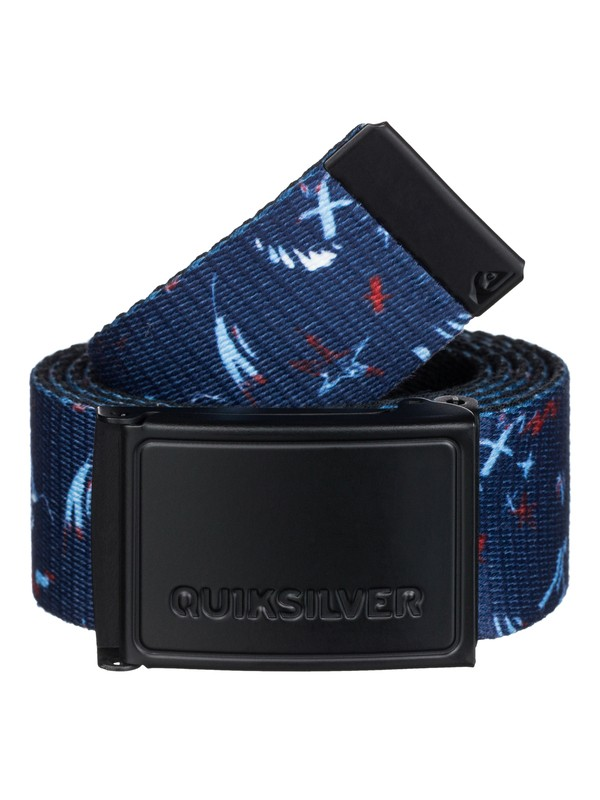 0 The Badge Belt  EQYAA03030 Quiksilver