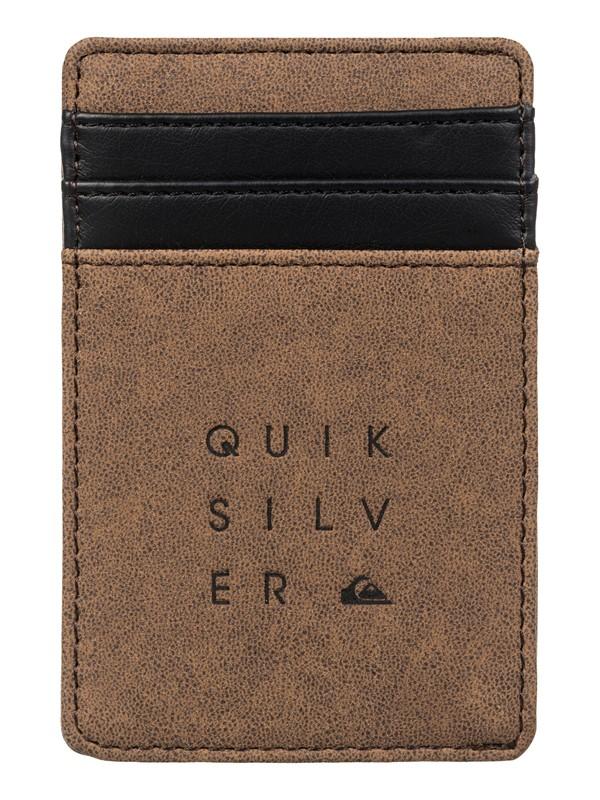 0 Cash Clip Wallet  EQYAA03140 Quiksilver