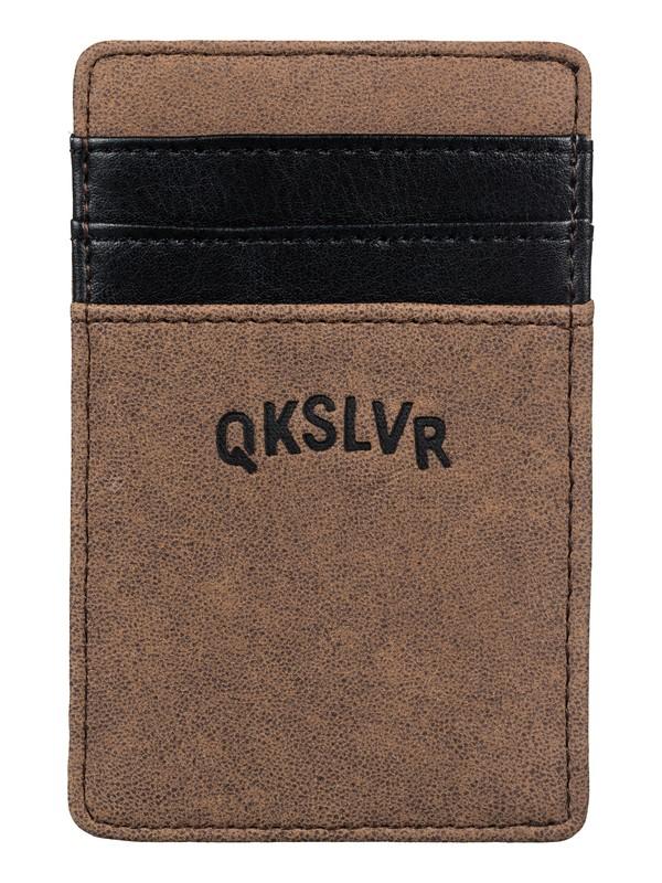 0 Cash Clip Wallet  EQYAA03237 Quiksilver