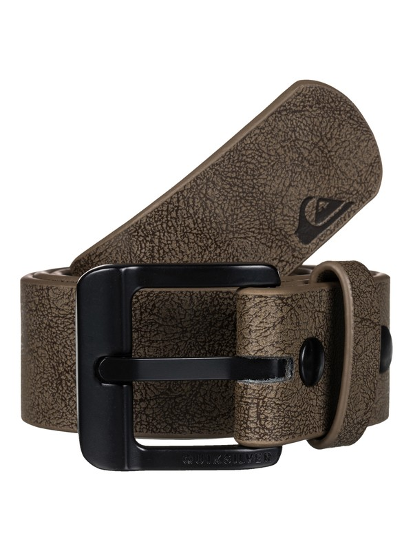 0 Main Street Faux Leather Belt  EQYAA03287 Quiksilver