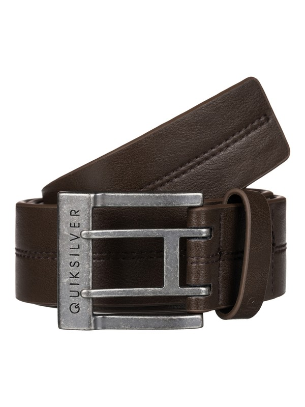 0 Stitchy Faux Leather Belt  EQYAA03288 Quiksilver