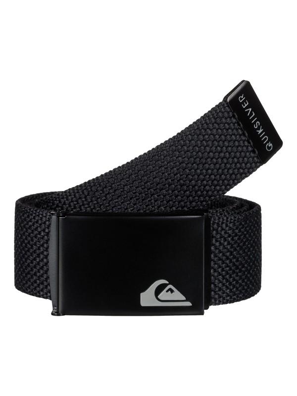0 Principle Webbing Belt Black EQYAA03289 Quiksilver