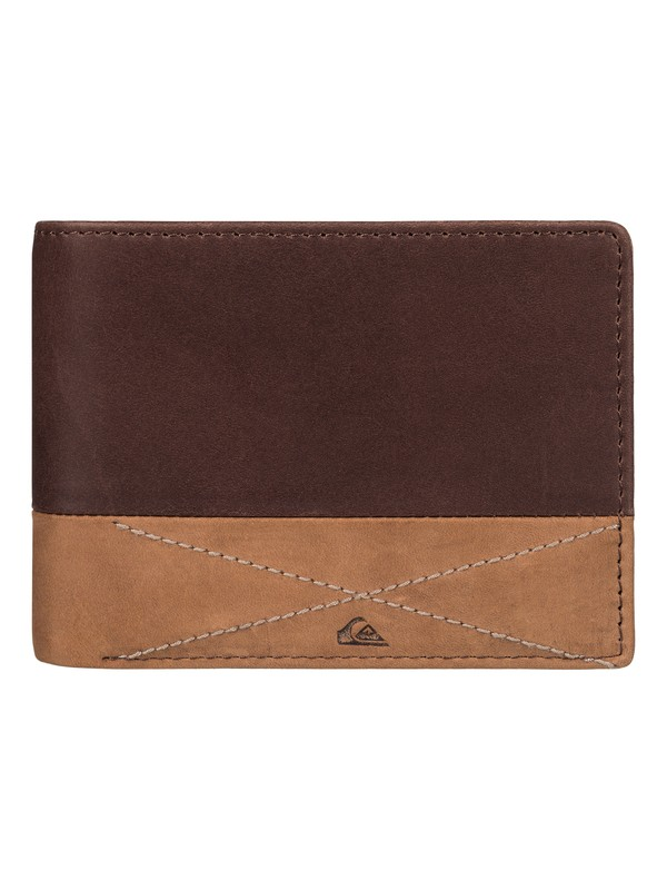 0 New Classical - Leather Wallet  EQYAA03390 Quiksilver