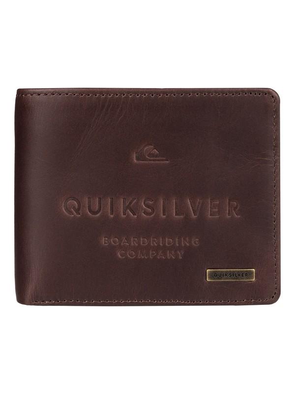 0 Mack - Leather Wallet  EQYAA03398 Quiksilver